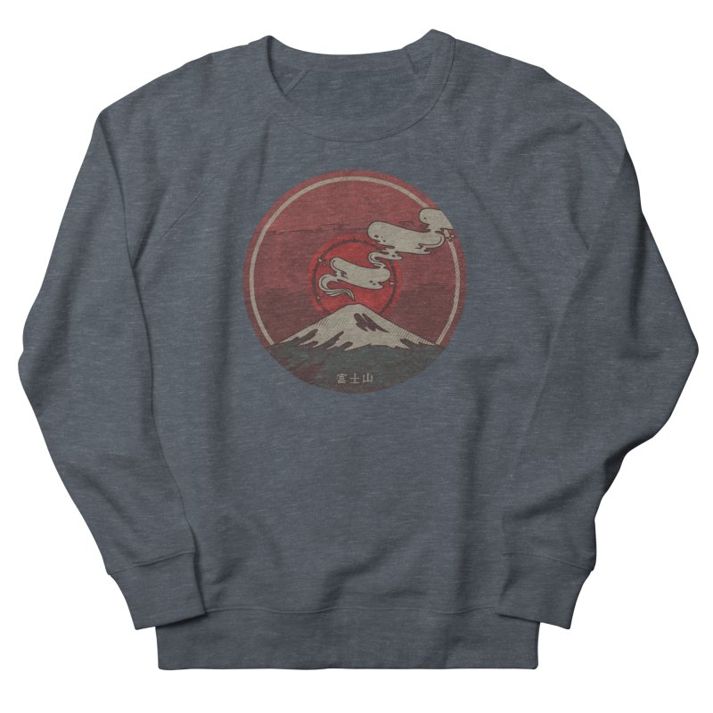 Fuji Men's French Terry Sweatshirt by againstbound's Artist Shop
