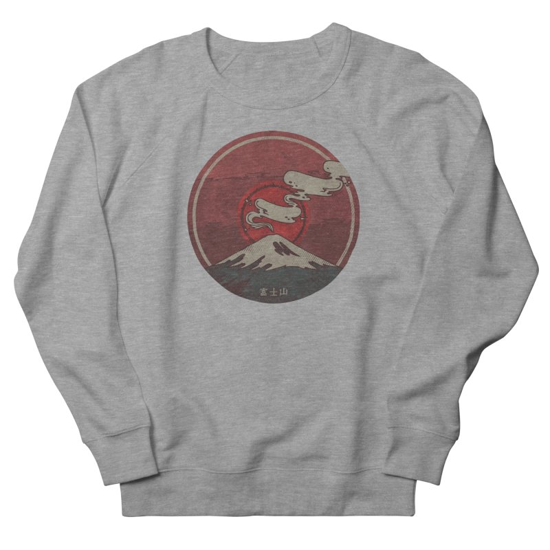 Fuji Men's Sweatshirt by againstbound's Artist Shop