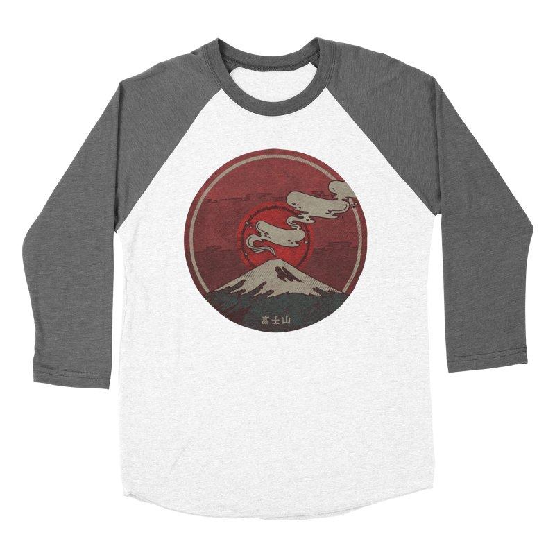 Fuji Women's Baseball Triblend T-Shirt by againstbound's Artist Shop