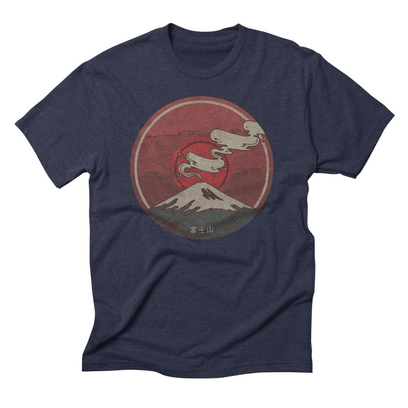 Fuji Men's Triblend T-shirt by againstbound's Artist Shop