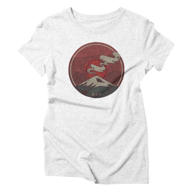 Fuji Women's Triblend T-shirt by againstbound's Artist Shop