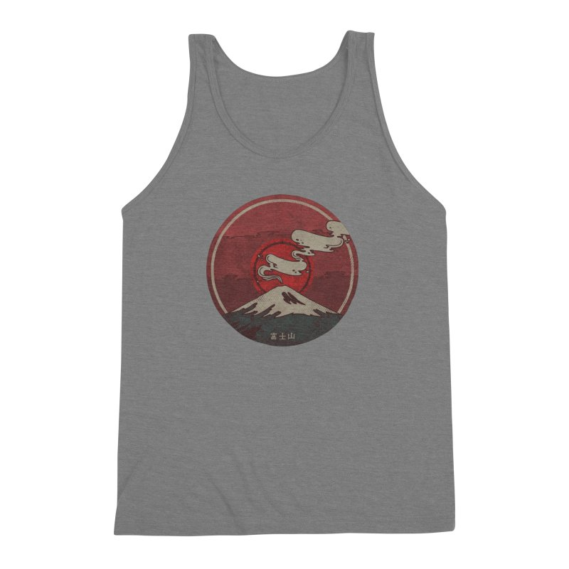 Fuji Men's Triblend Tank by againstbound's Artist Shop