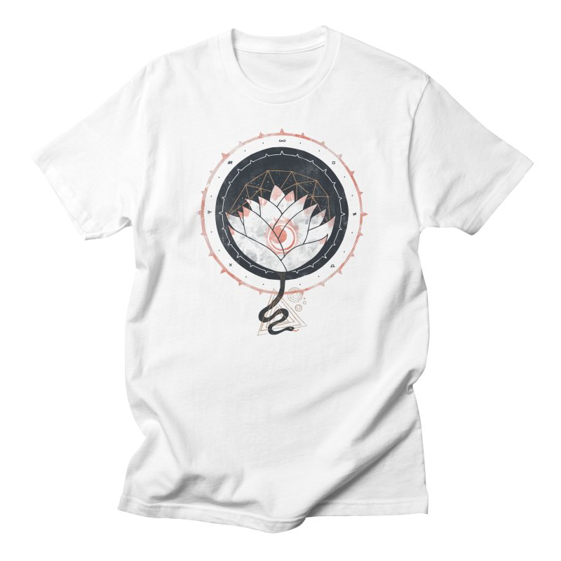 Lotus Men's T-shirt by againstbound's Artist Shop