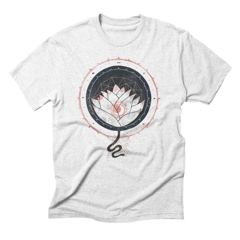Lotus Men's Triblend T-shirt by againstbound's Artist Shop