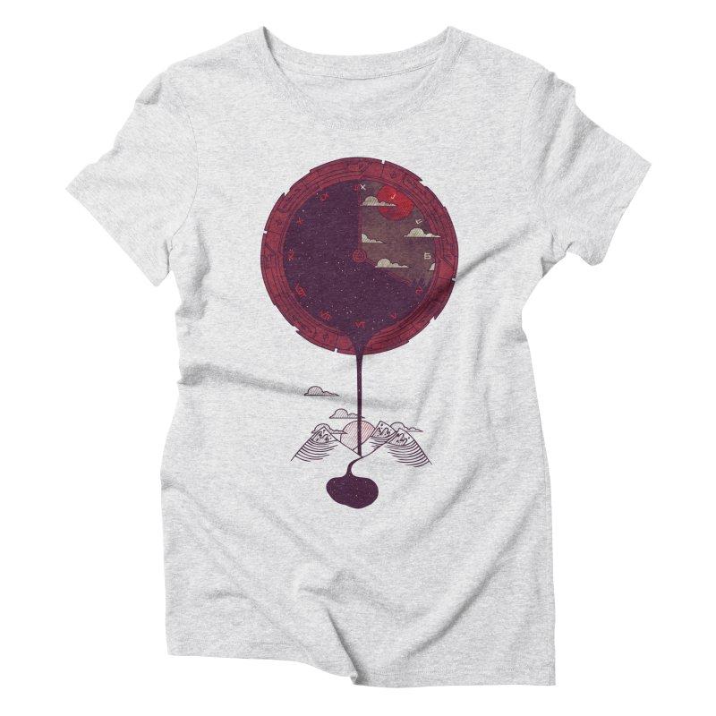 Nightfall Women's Triblend T-Shirt by againstbound's Artist Shop