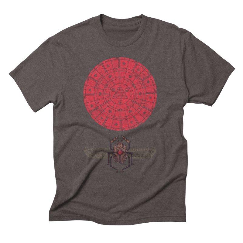 Sacred Sun Men's Triblend T-shirt by againstbound's Artist Shop