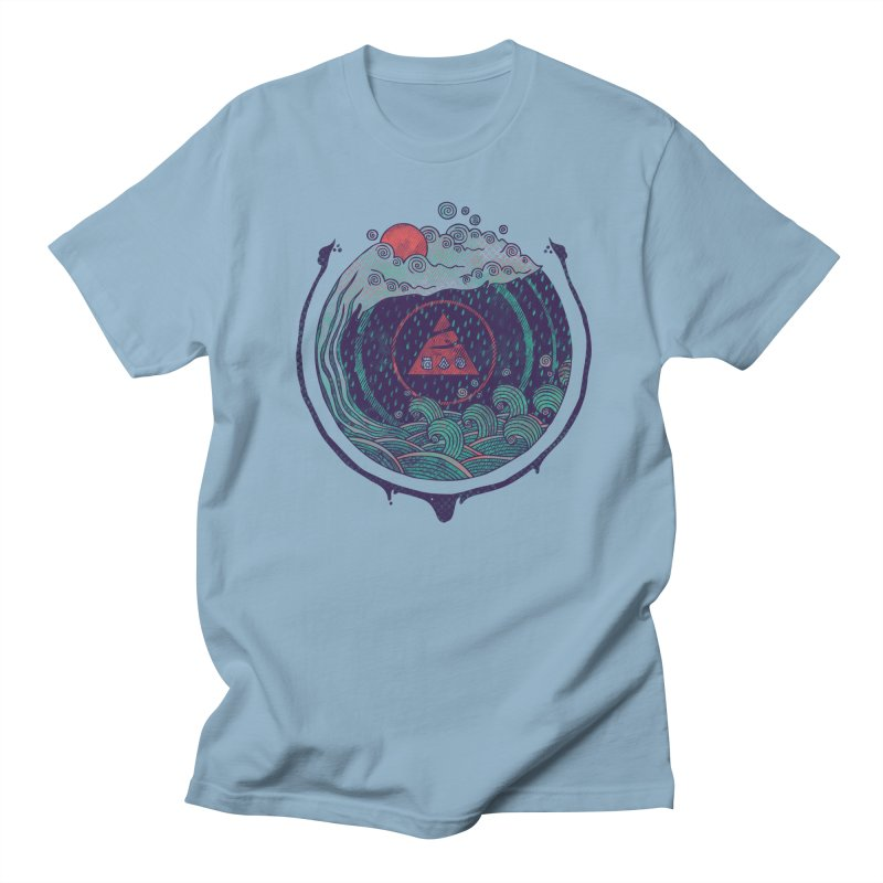 Water Men's T-Shirt by againstbound's Artist Shop