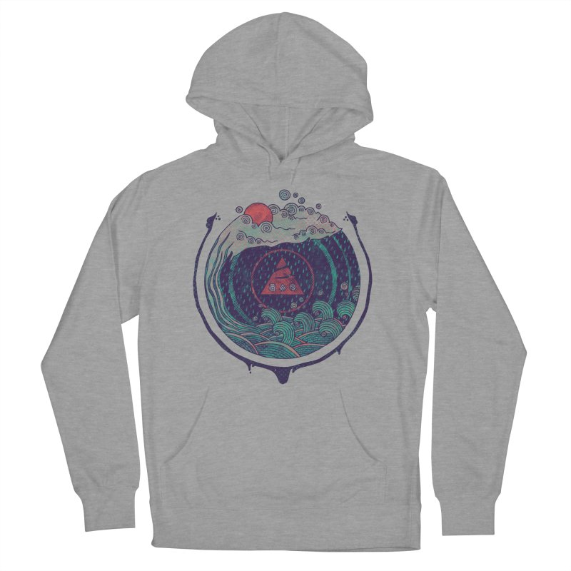 Water Women's French Terry Pullover Hoody by againstbound's Artist Shop