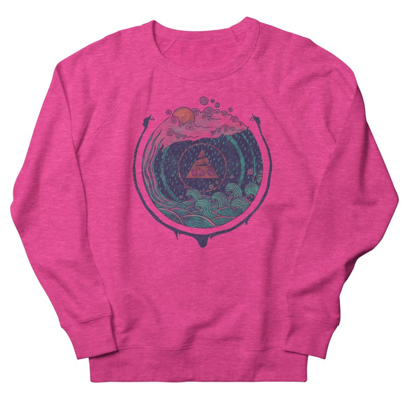 Water Women's Sweatshirt by againstbound's Artist Shop