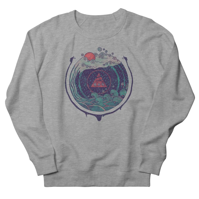 Water Men's Sweatshirt by againstbound's Artist Shop