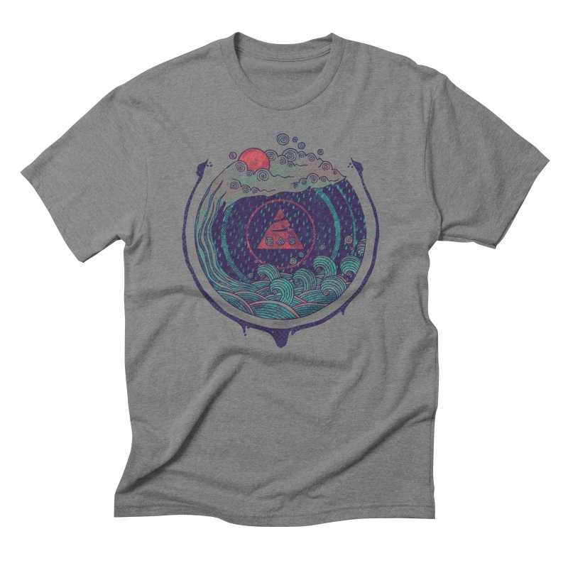 Water Men's Triblend T-shirt by againstbound's Artist Shop