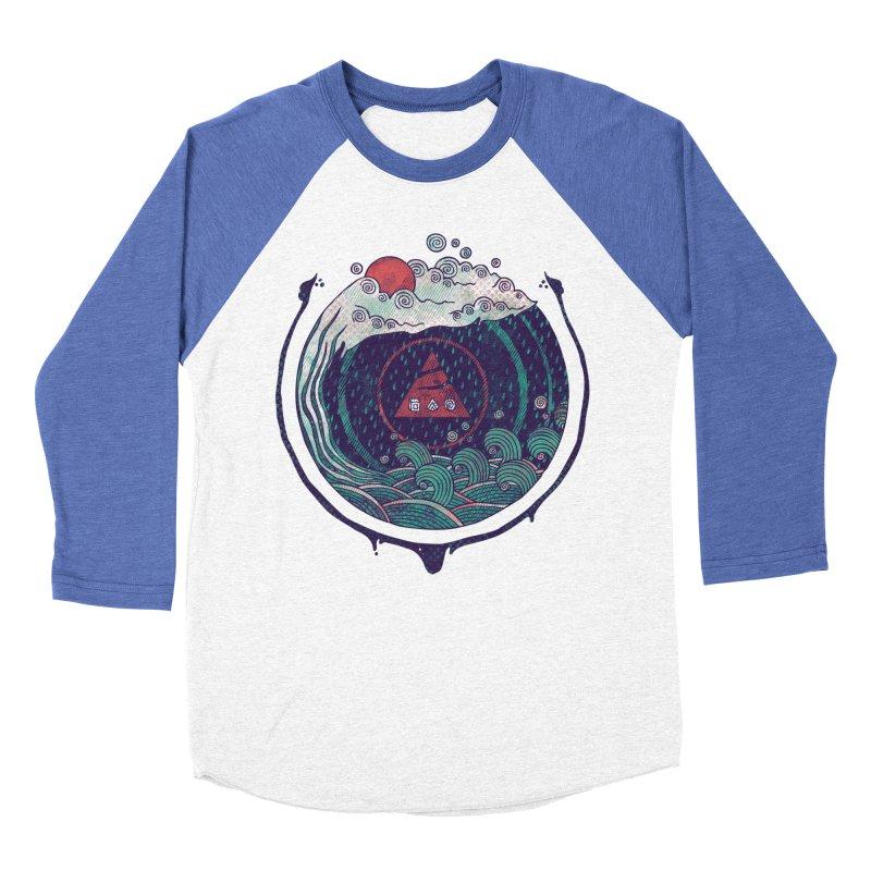 Water Men's Baseball Triblend Longsleeve T-Shirt by againstbound's Artist Shop