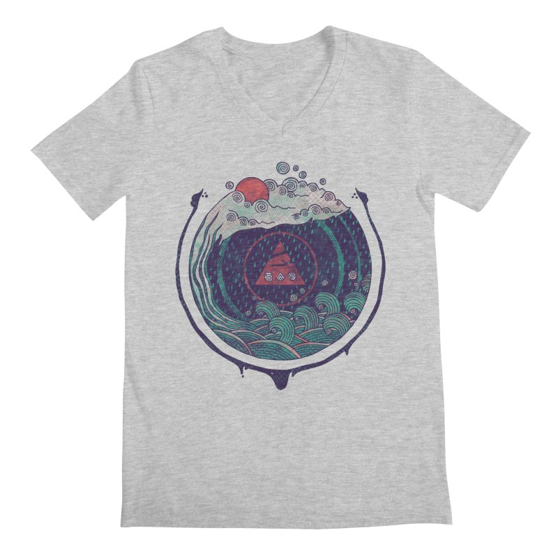 Water Men's Regular V-Neck by againstbound's Artist Shop