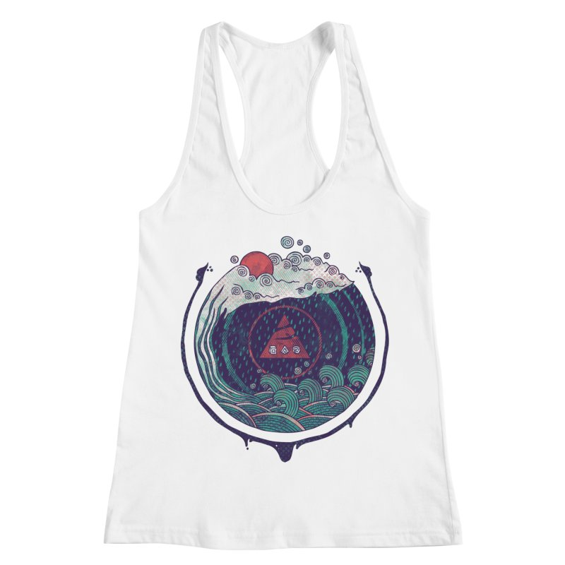 Water Women's Racerback Tank by againstbound's Artist Shop