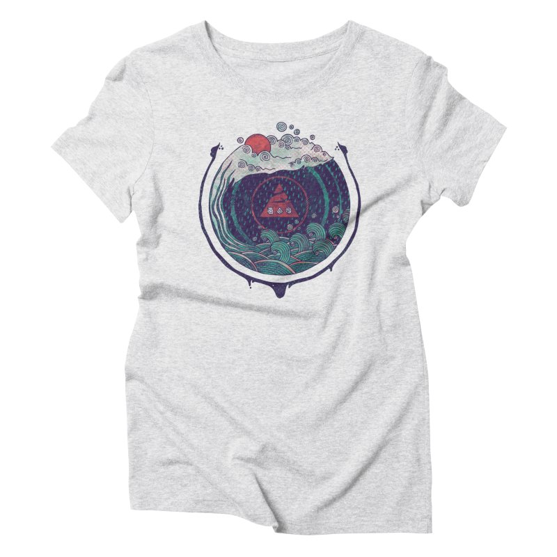 Water Women's Triblend T-Shirt by againstbound's Artist Shop
