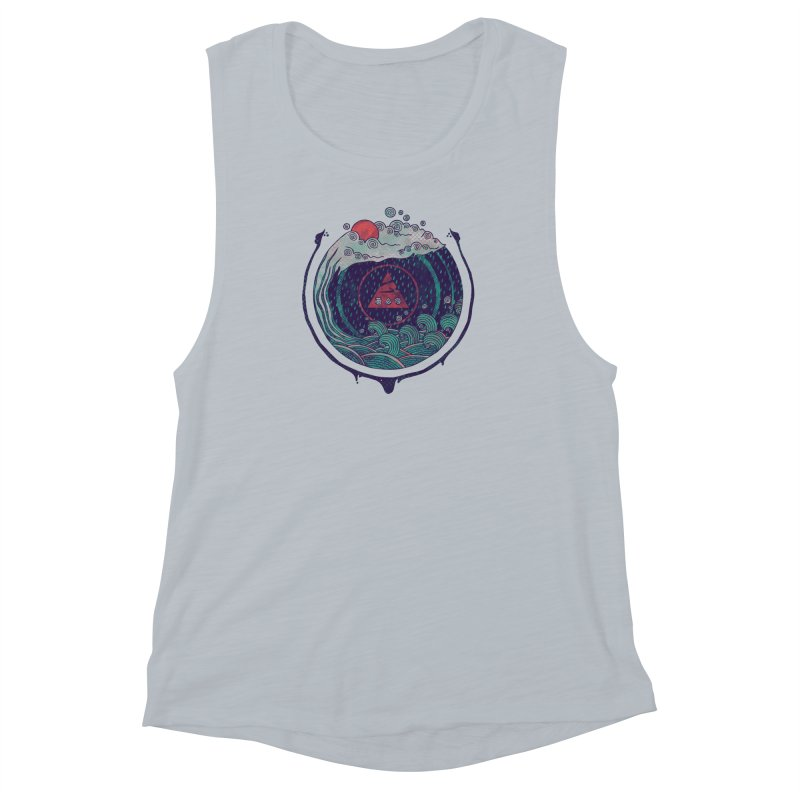 Water Women's Muscle Tank by againstbound's Artist Shop