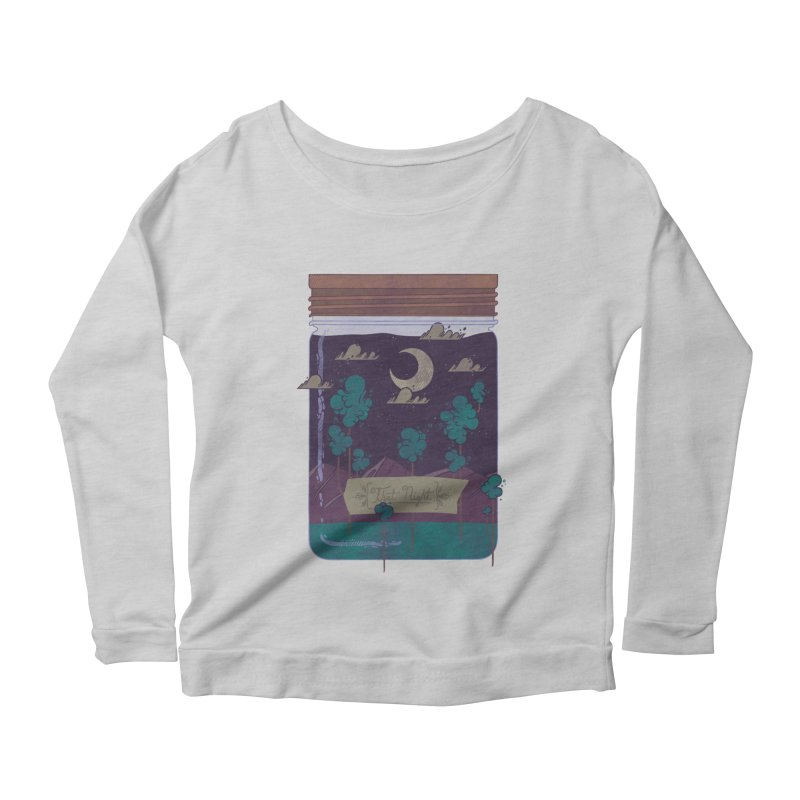 Memento Women's Longsleeve Scoopneck  by againstbound's Artist Shop