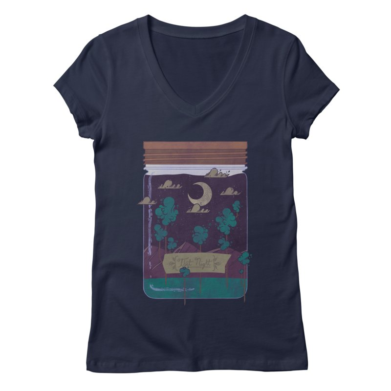 Memento Women's V-Neck by againstbound's Artist Shop