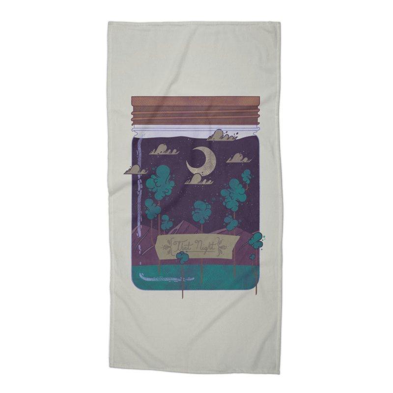 Memento Accessories Beach Towel by againstbound's Artist Shop