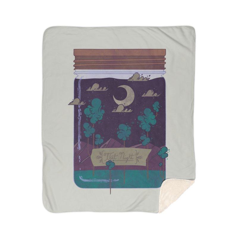Memento Home Sherpa Blanket Blanket by againstbound's Artist Shop