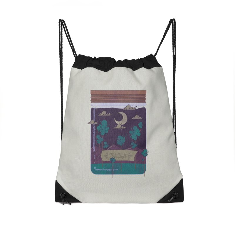 Memento Accessories Drawstring Bag Bag by againstbound's Artist Shop
