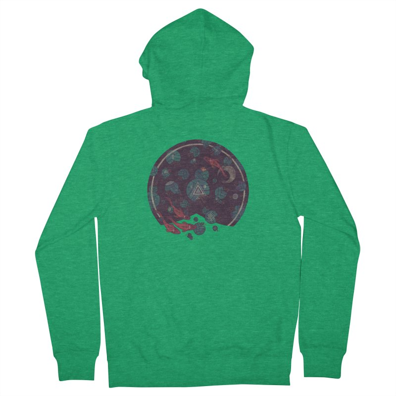 Amongst the Lilypads Women's Zip-Up Hoody by againstbound's Artist Shop