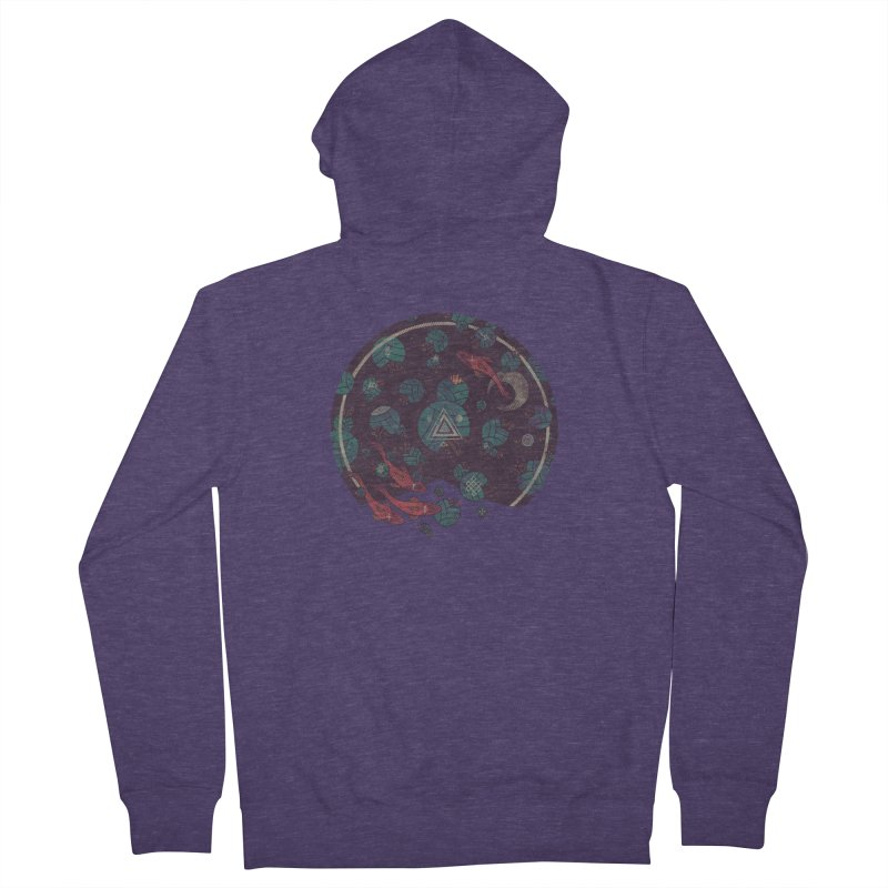 Amongst the Lilypads Men's Zip-Up Hoody by againstbound's Artist Shop