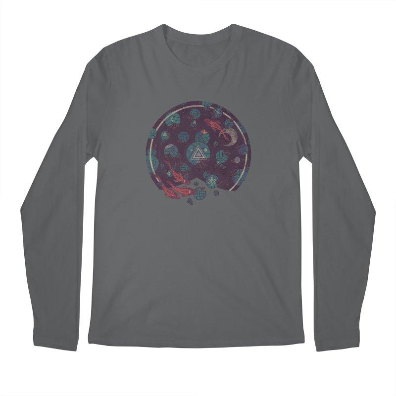 Amongst the Lilypads Men's Longsleeve T-Shirt by againstbound's Artist Shop