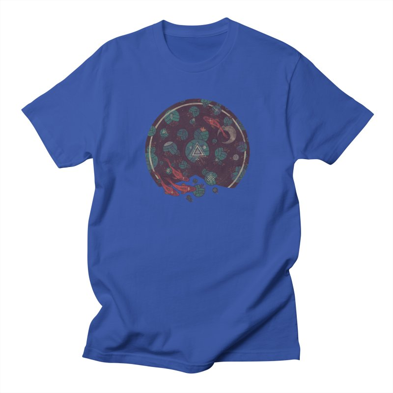 Amongst the Lilypads Men's T-Shirt by againstbound's Artist Shop
