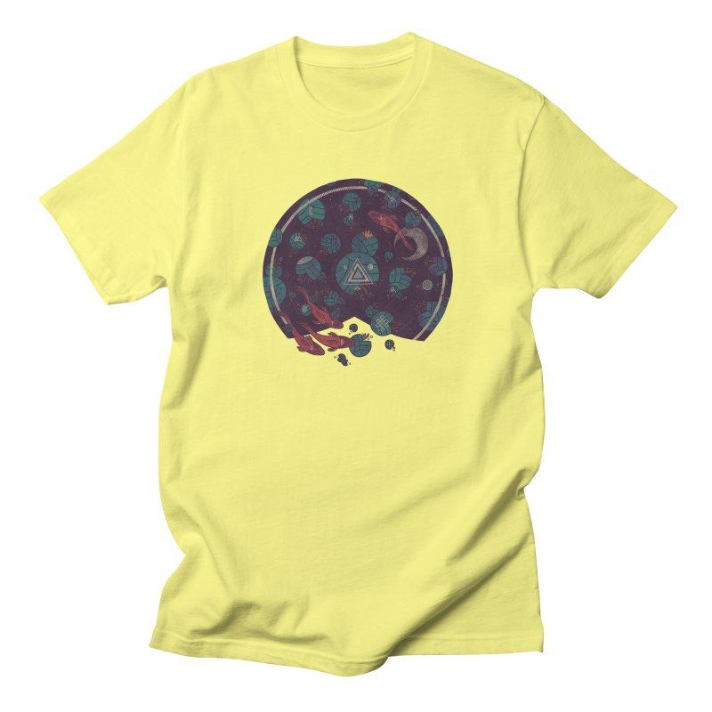 Amongst the Lilypads Men's Regular T-Shirt by againstbound's Artist Shop