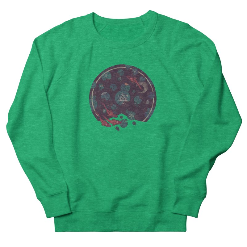 Amongst the Lilypads Women's Sweatshirt by againstbound's Artist Shop