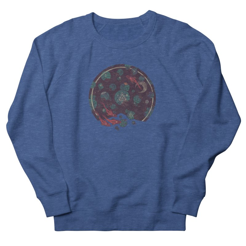 Amongst the Lilypads Women's French Terry Sweatshirt by againstbound's Artist Shop