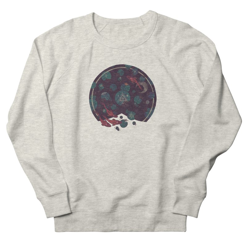 Amongst the Lilypads Men's French Terry Sweatshirt by againstbound's Artist Shop