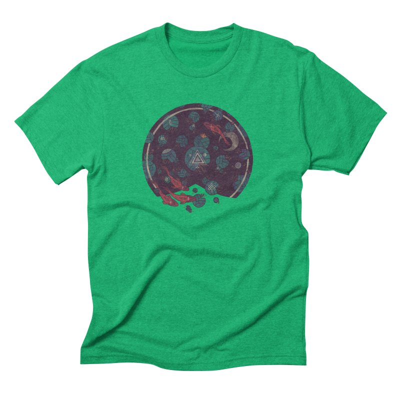 Amongst the Lilypads Men's Triblend T-Shirt by againstbound's Artist Shop