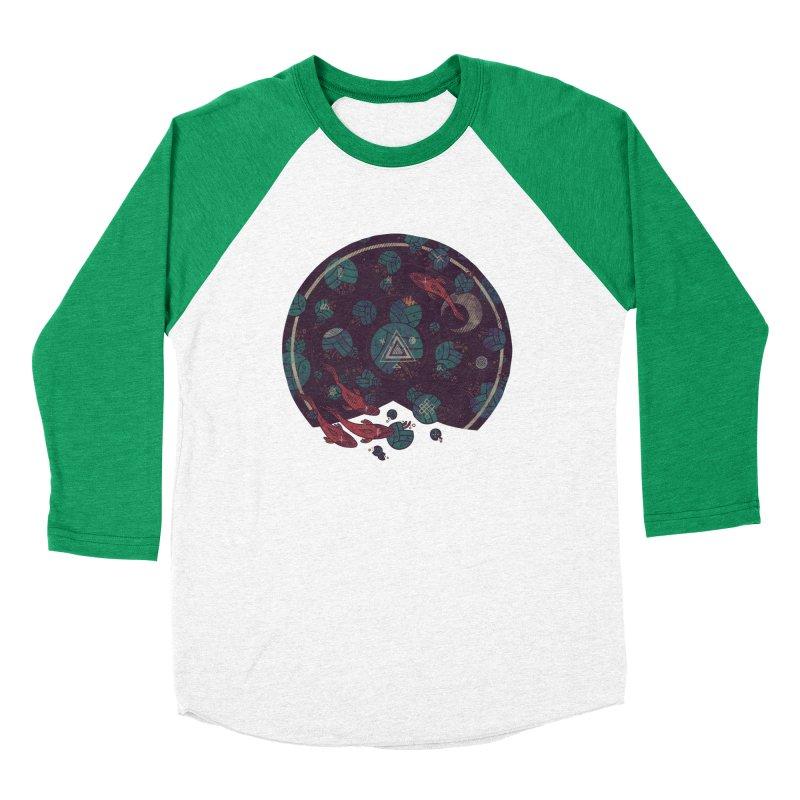 Amongst the Lilypads Women's Baseball Triblend Longsleeve T-Shirt by againstbound's Artist Shop