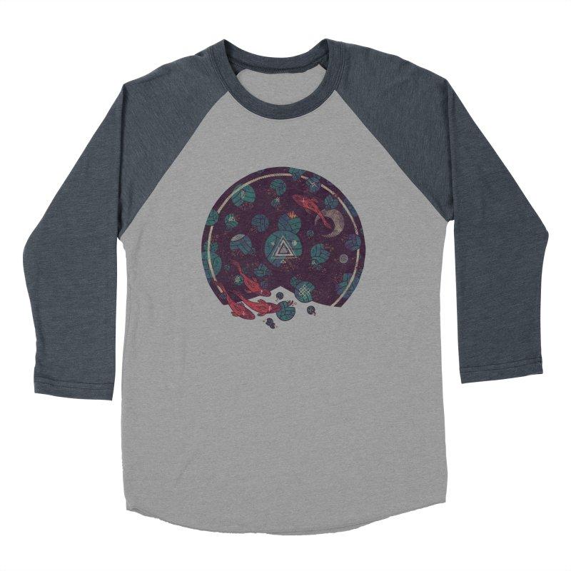 Amongst the Lilypads Men's Baseball Triblend Longsleeve T-Shirt by againstbound's Artist Shop