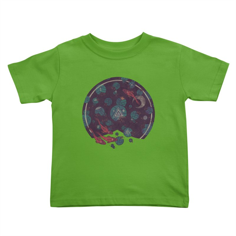Amongst the Lilypads Kids Toddler T-Shirt by againstbound's Artist Shop