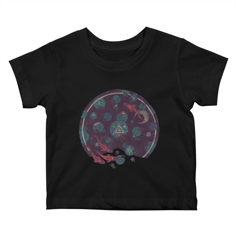Amongst the Lilypads Kids Baby T-Shirt by againstbound's Artist Shop
