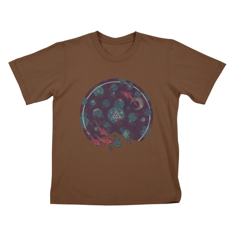 Amongst the Lilypads Kids T-Shirt by againstbound's Artist Shop