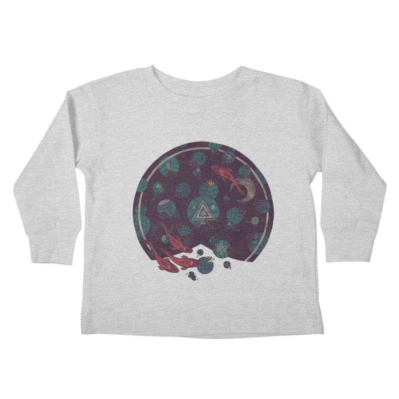 Amongst the Lilypads Kids Toddler Longsleeve T-Shirt by againstbound's Artist Shop