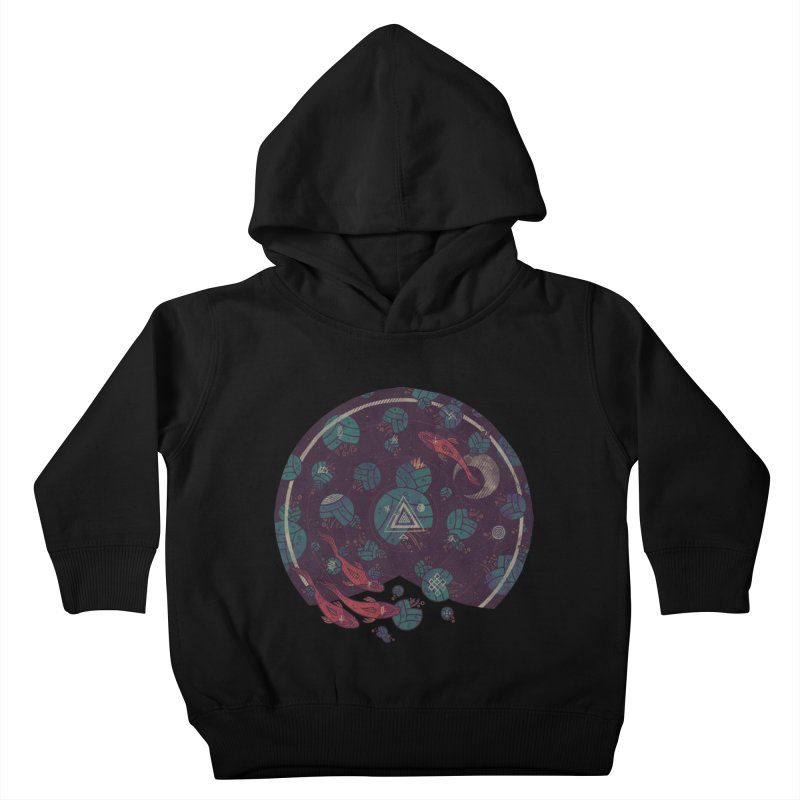 Amongst the Lilypads Kids Toddler Pullover Hoody by againstbound's Artist Shop
