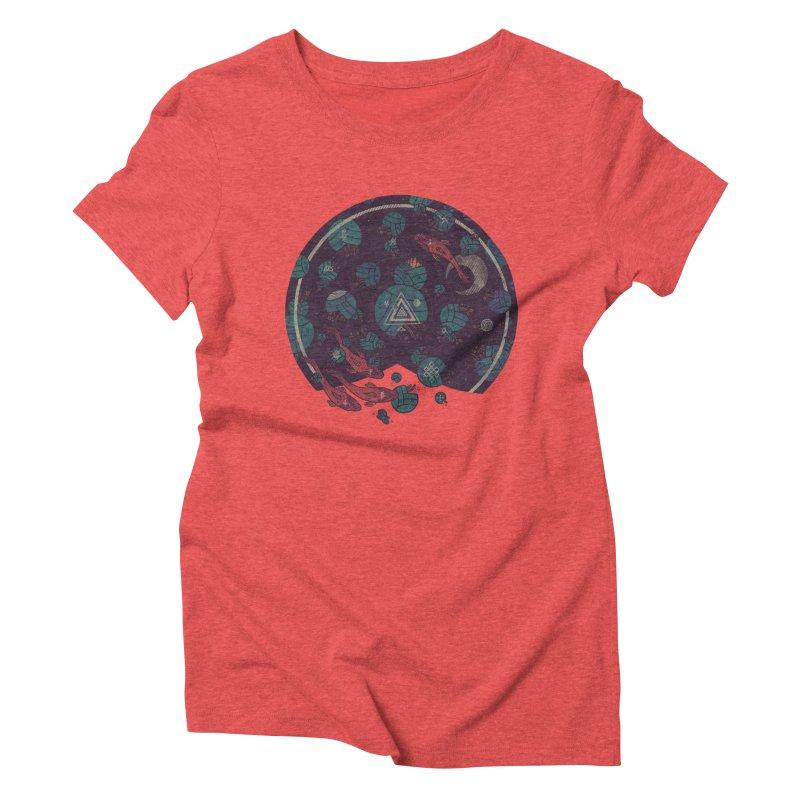 Amongst the Lilypads Women's Triblend T-shirt by againstbound's Artist Shop