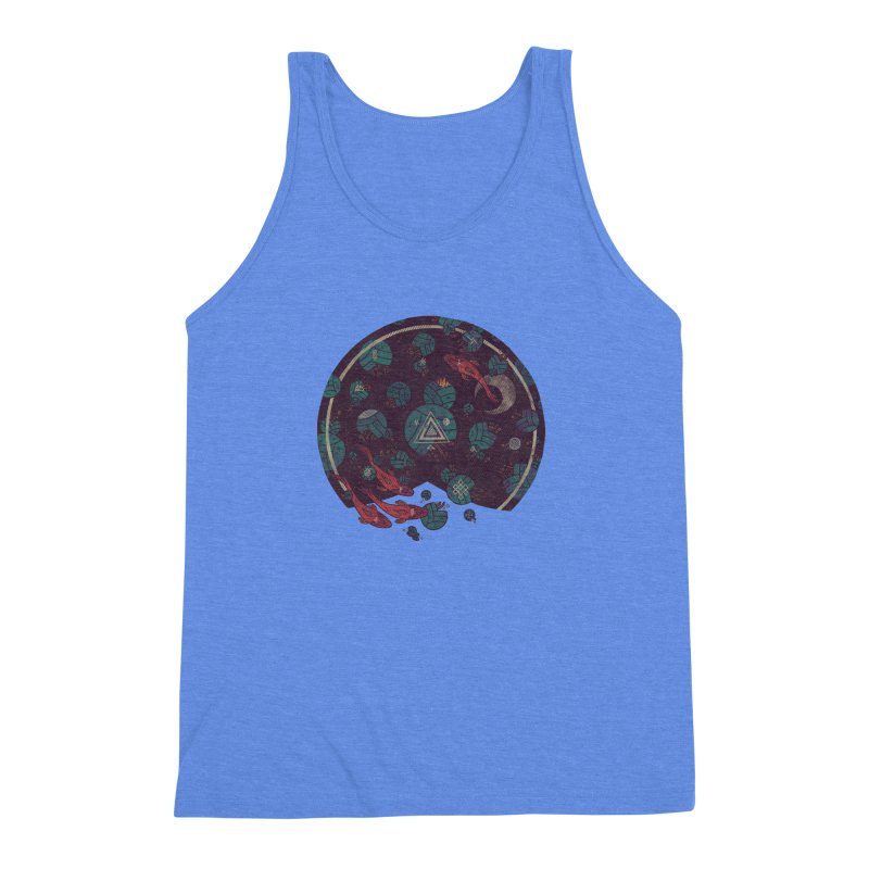 Amongst the Lilypads Men's Triblend Tank by againstbound's Artist Shop