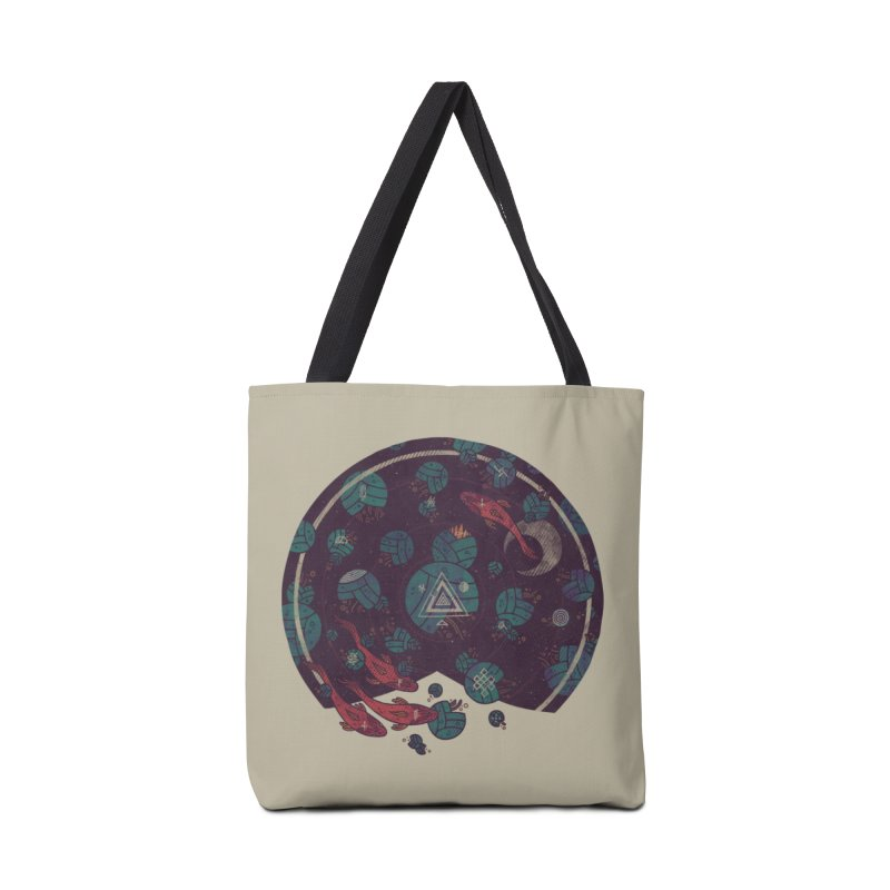Amongst the Lilypads Accessories Bag by againstbound's Artist Shop