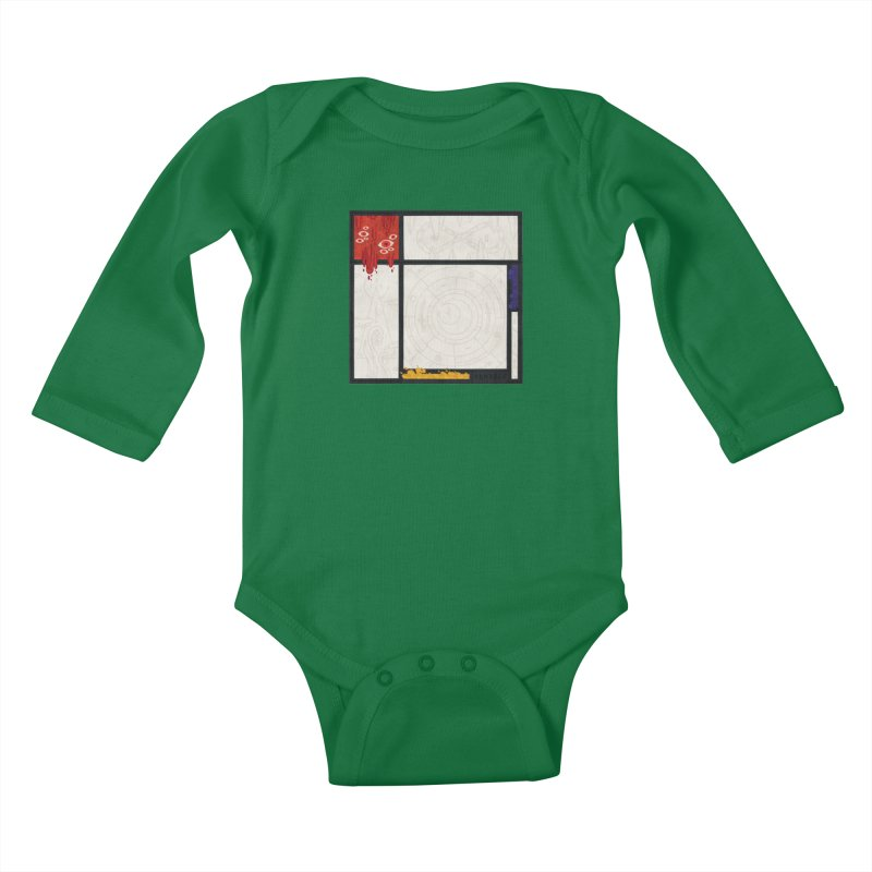 Tribute Kids Baby Longsleeve Bodysuit by againstbound's Artist Shop