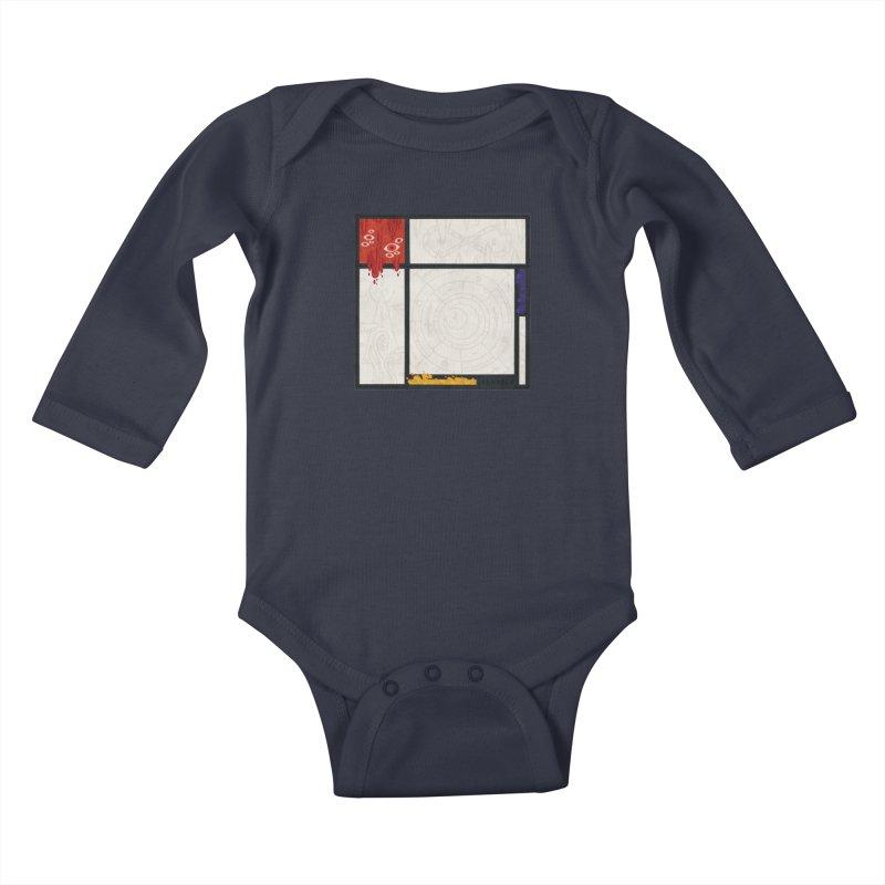 Tribute Kids Baby Longsleeve Bodysuit by againstbound's Artist Shop