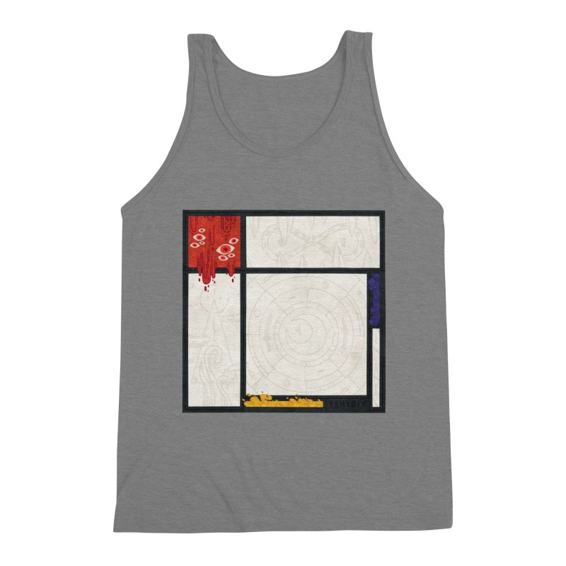 Tribute Men's Triblend Tank by againstbound's Artist Shop