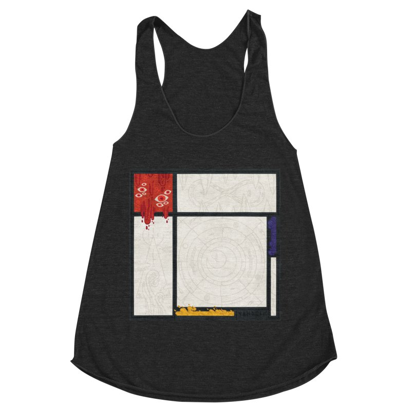 Tribute Women's Racerback Triblend Tank by againstbound's Artist Shop