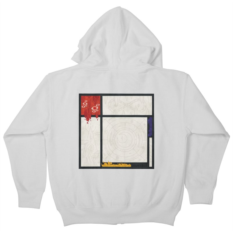 Tribute Kids Zip-Up Hoody by againstbound's Artist Shop