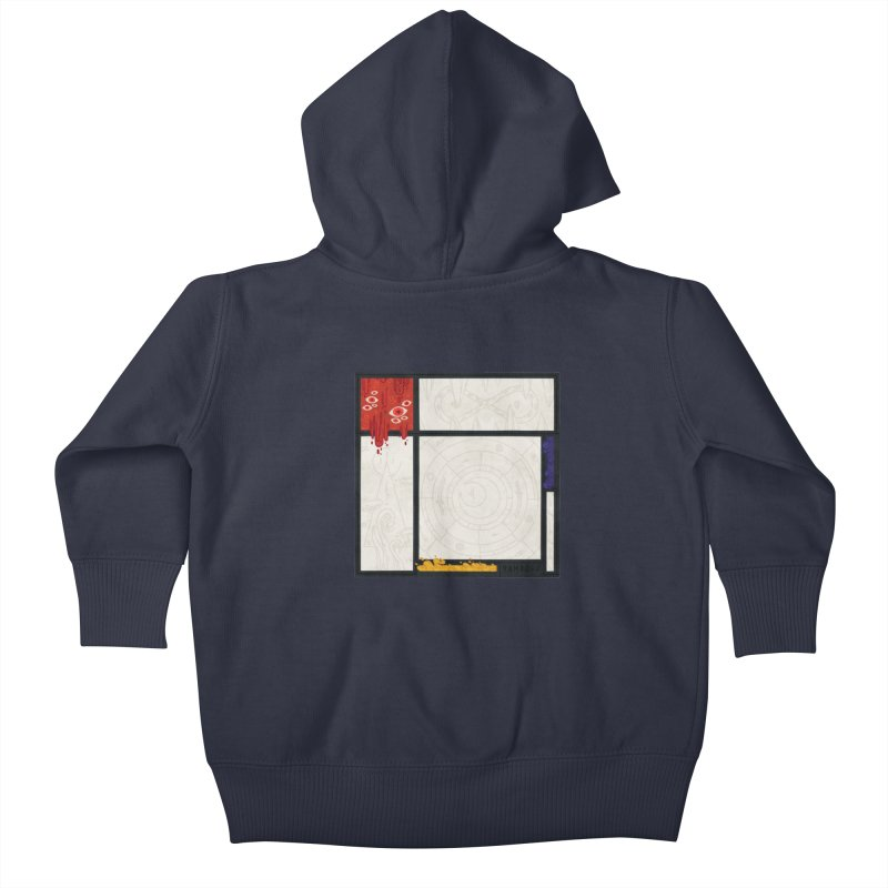Tribute Kids Baby Zip-Up Hoody by againstbound's Artist Shop